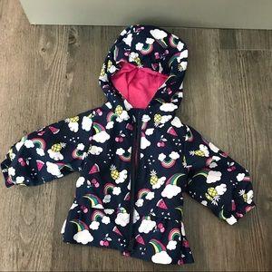 Wonder Nation Newborn Rain Jacket
